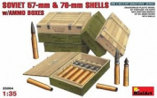 "Miniart 1:35 Scale ""soviet Ammo Boxes"" Plastic Model Kit"