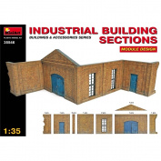 1:35 Industrial Building Sections - Miniart Model Kit 135 Module Design