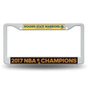NBA Golden State Warriors 2017 Basketball Champions Plastic Frame, 48cm , Royal Blue, Gold