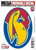 Kansas Jayhawks Decal 5x7 Mega