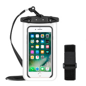 OBOSOE Universal Waterproof Case,Dustproof Cell Phone Dry Bag Pouch for Smartphones Up to 15cm