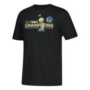 NBA Golden State Warriors Men's 2017 Finals Champions Locker Room T-Shirt, XX-Large, Black