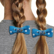 NBA New Orleans Hornets Bow Pigtail Holder