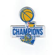 2017 NBA Finals Champions Golden State Warriors Basketball Jersey Patch