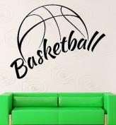 Wall Sticker Vinyl Decal NBA Basketball Ball Cool Decor Sports Fans VS2130