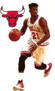 Jimmy Butler Mini FATHEAD Chicago Bulls Official NBA Vinyl Wall Graphic 18cm INCH