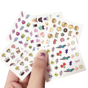 Dosige Nail Art Sticker DIY Cute Fashion Nail Stickers For Kids