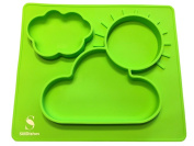 SiliDishes Silicone Sunshine Placemat Tray