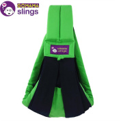 GOMAMA Baby sling One Size Wrap Carrier With Bags Fits to Baby