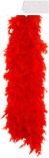BULK RED BOA 2,4,6,8.10 BURLESQUE SOFT FEATHER BOA SHOWGIRL DANCE FANCY DRESS HEN NIGHT