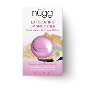 nügg natural LIP SCRUB and LIP SMOOTHER; exfoliates, hydrates and smoothes lips; ALL NATURAL and VEGAN; 5ml