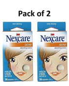 Nexcare Acne Absorbing Covers, Assorted 36 ea