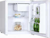 Igenix Ig3711 Mini Counter Top Fridge White 47l   Freezer Box/ Lock/ Energy A+