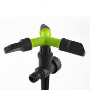 Fully Circle Rotating Sprinkler Hozelock Compatible Plastic For Garden Pipe Hose