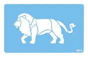 Jem Lion Stencil