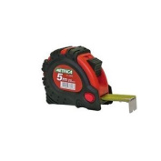 Metrica 38646 Tape Measure With Case And 3 Stop Buttons 5 M