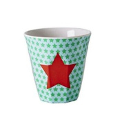 Kids Small Melamine Cup Star Print By Rice Dk Rice
