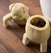 Pug In A Mug Silicone Tea Infuser, A Strainer For Drinking Loose Leaf Tea & In A