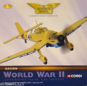 Corgi Aviation 1/72 Ju87b Tropical Stuka Stg 1 Libya Late 1941 - Aa32506