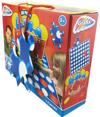 Connect 4 In A Row Kids Childrens Puzzle Board Game Party Game Jigsaw Toys