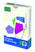 Irregular Shapes Snap And Pairs Cards - Math Game For Children Ages 7 To 11