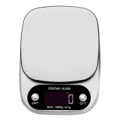 Digital Kitchen and Food Scale with 4 Unit Modes in Stanless Steel C305, 10kg / 1g