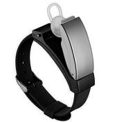 MODIWEN Healthy Sports Smart Wristwatch Bluetooth Earphone Headset Bracelet, Pedometer Driving Fitness Phone Call Watches