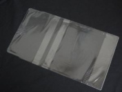 1 X 212mm Clear Plastic Adjustable Protective Book Cover For Paperbacks School