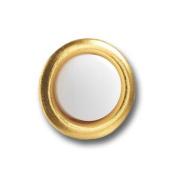 Greenbrook Push A Lite Small Round Brass Push Button Door Bell