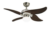 Westinghouse Jasmine Ceiling Fan - Dark Pewter/chrome