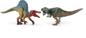 Dinosaurs 41455 Schleich Spinosaurus And T-rex Figure Small