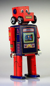MS486 Search and rescue Robot Tin toy Robot WIND UP
