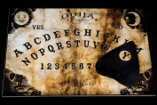 Wooden Ouija Spirit Board game with Planchette and detailed instruction