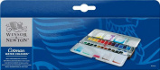 Windsor & Newton Cotman water colour 11 24 colour metal sketches box set music gift _ packing fun gift _ Messe fun gift _ Messe input