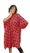 Ladybird Line All Purpose Ladybug Cape Lightweight Water Repellent Ideal for Salon Clients
