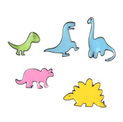 Little Dinosaurs T-shirt Scarf Badge Brooch and Pin Set for Women Children Men
