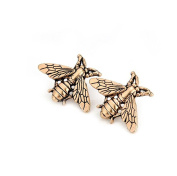 Gudeke Animal Bee Brooch Shirt Corsage Western-style Clothes Suit Brooch and Pin for Women Men