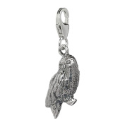 Official Sterling Silver Hedwig Harrys Owl Clip on Charm - Boxed
