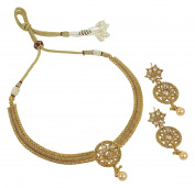 MUCHMORE Stunning Style Polki Indian Necklace Fantastic Jewellery for woman's
