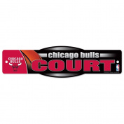 NBA Chicago Bulls 02551010 Street/Zone Sign, 11cm x 43cm