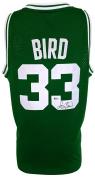 Larry Bird Signed Boston Celtics Adidas Hardwood Classics Jersey Beckett BAS