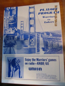 1968 San Francisco Warriors vs Lakers Playoff unscored programme ticket stubs