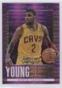 Kyrie Irving #/99 (Basketball Card) 2013-14 Panini Select - Young Bloods - Purple Prizms #8