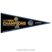 Golden State Warriors NBA Finals 2017 Champions Pennant and 30cm X 80cm NBA Banner