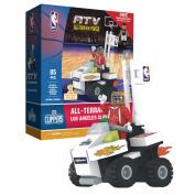 NBA Los Angeles Clippers OYOBKTLACATV Irrelevant Building Blocks, Black, Small