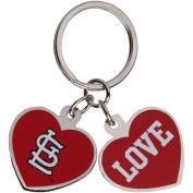 Saint Louis Cardinals Love Keychain