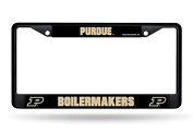 NCAA Purdue Boilermakers Chrome Frame, Black, 30cm by 15cm