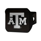 FANMATS 21051 Texas A & M Black Hitch Cover , Team Colour, 8.6cm x 10cm