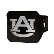 FANMATS 21026 Auburn Black Hitch Cover , Team Colour, 8.6cm x 10cm