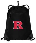 RU Drawstring Bag Rutgers University Cinch Pack Backpack UNIQUE MESH & MICROFIBER